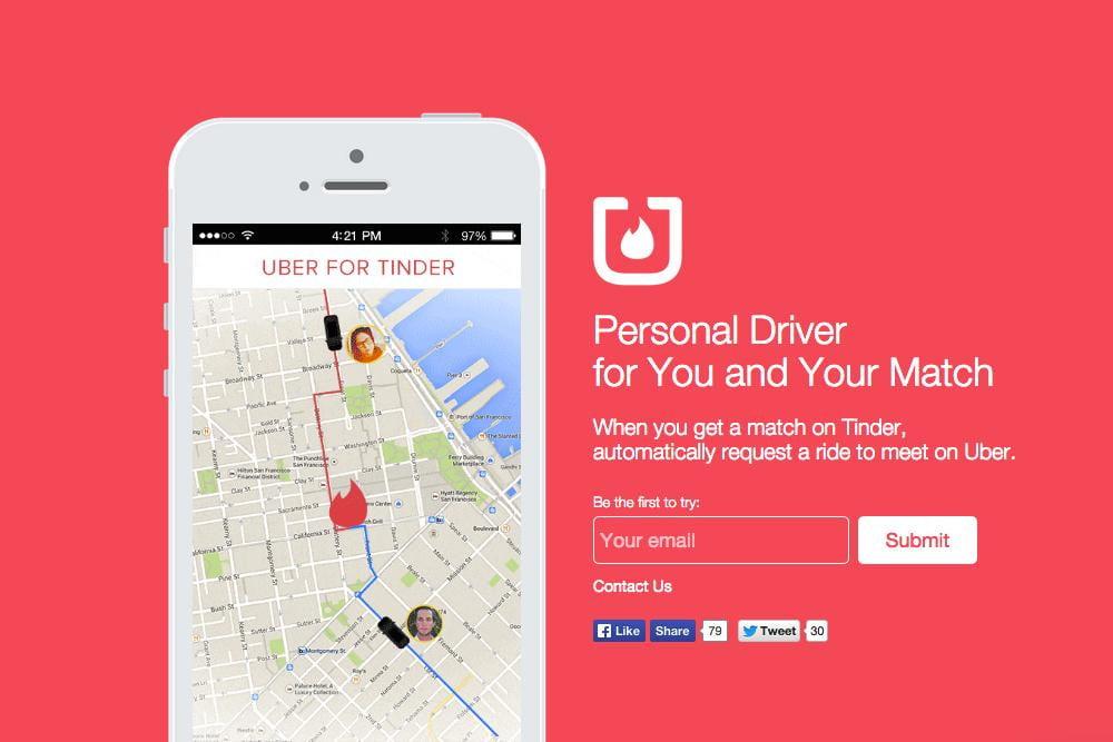 uber for tinder
