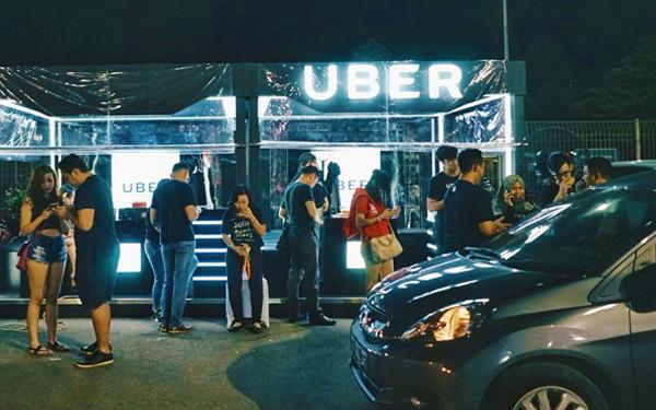 uber startup kecil kepada syarikat gergasi