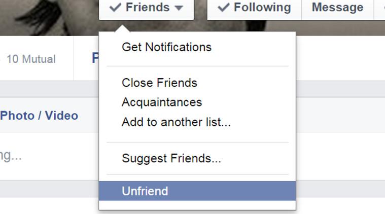 unfriend 10 benda yang anda perlu padam dari facebook serta merta