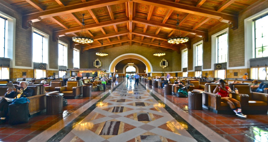 union station los angeles stesen kereta api paling cantik di dunia