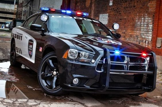 us police dodge charger 486