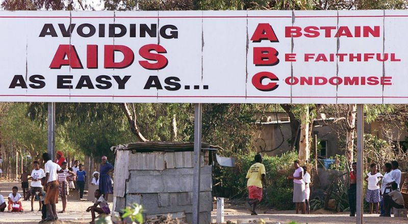 usaha mengurangkan wabak aids di bostwana