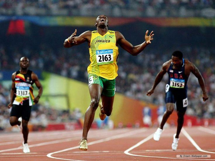 usain bolt rekod baru dunia 100 meter
