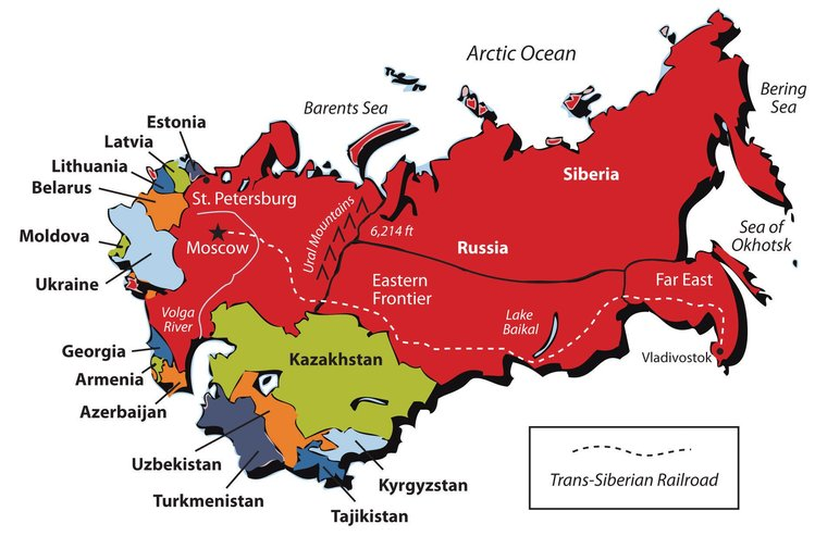 ussr bubar ini senarai negara baru yang terbentuk bermula tahun 1990