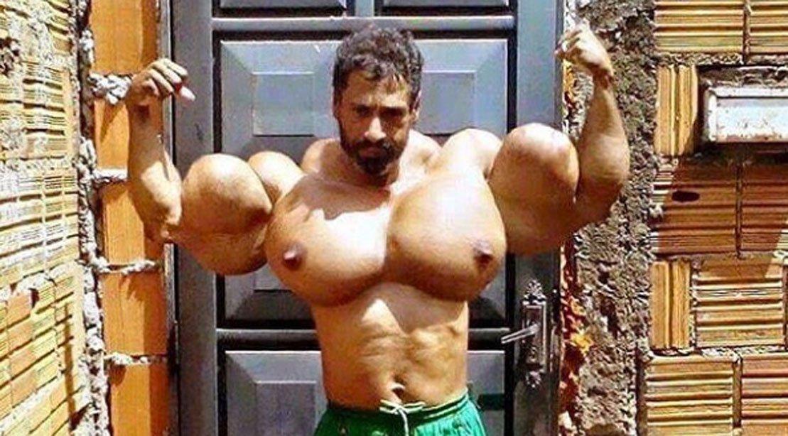 valdir segato lelaki yang ingin menjadi the hulk 2