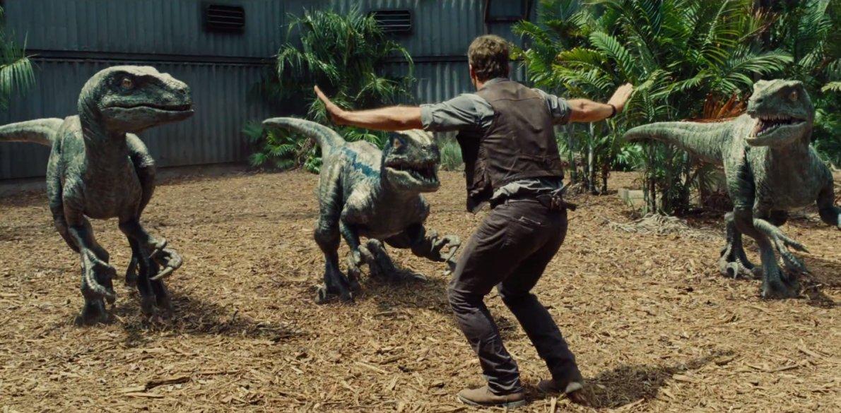 velociraptor dalam filem jurassic park