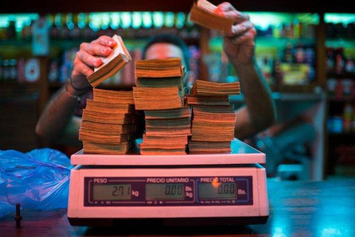 venezuela duit ditimbang
