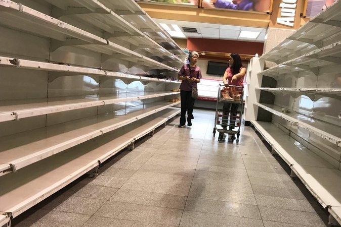 venezuela kekurangan makanan kerana hiperinflasi