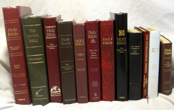 versi bible berbahasa inggeris yang lazim digunakan hari ini