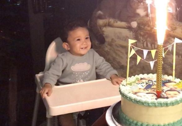 video yusuf iskandar bersorak depan kek hari jadi cuit hati netizen 521
