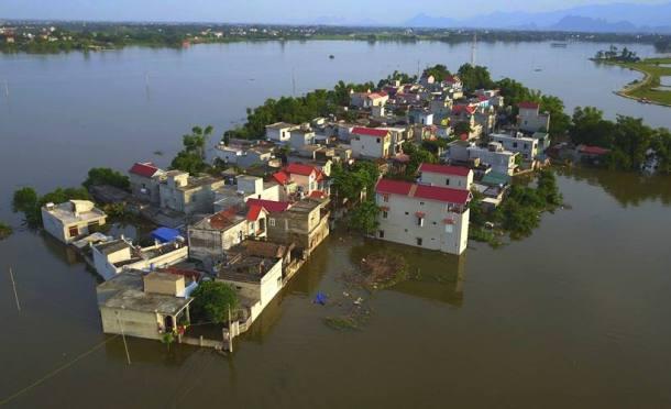 vietnam banjir besar