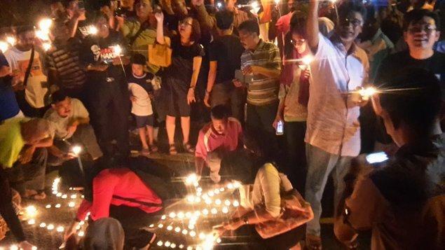 vigil di malaysia