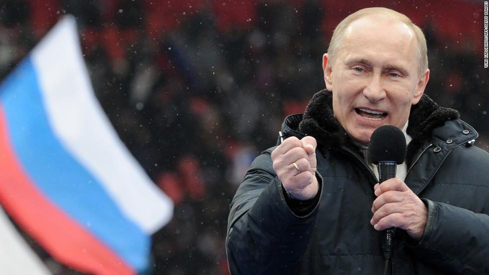 vladimir putin menjadi presiden dan perdana menteri rusia sebanyak dua kali