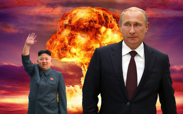 vladmir putin and kim jong un nuclear war