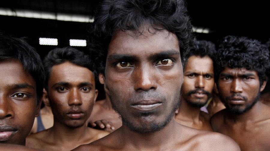 wajah lelaki rohingya myanmar