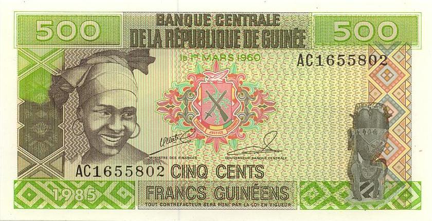 wang kertas guinea