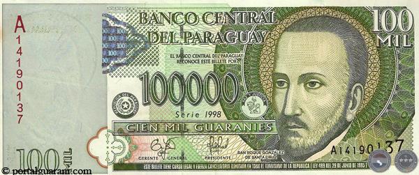 wang kertas paraguay