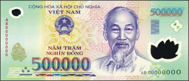 wang kertas vietnam