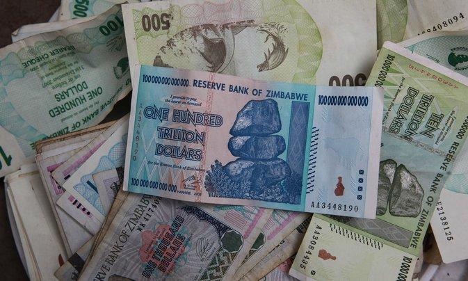 wang kertas zimbabwe