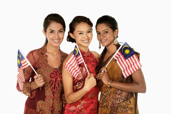 wanita berbilang kaum malaysia