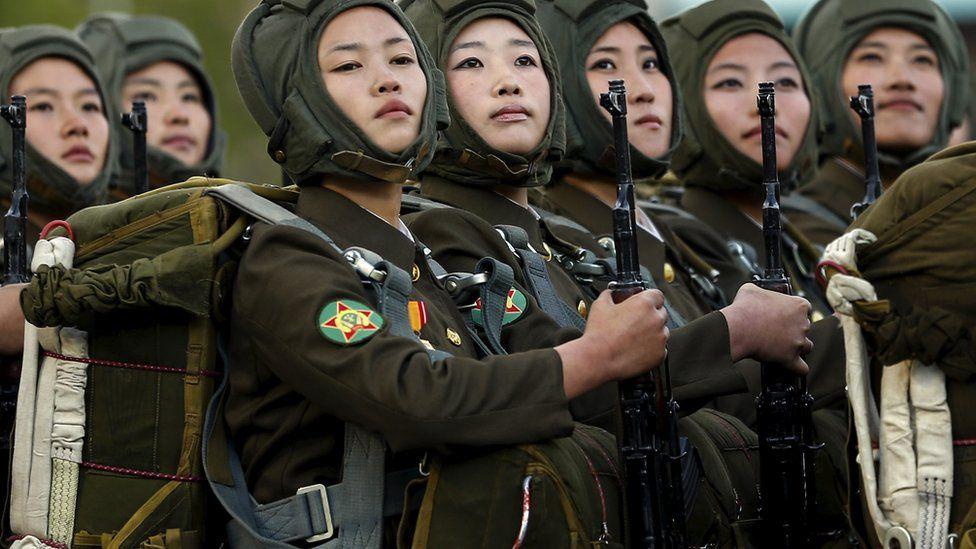 wanita korea utara