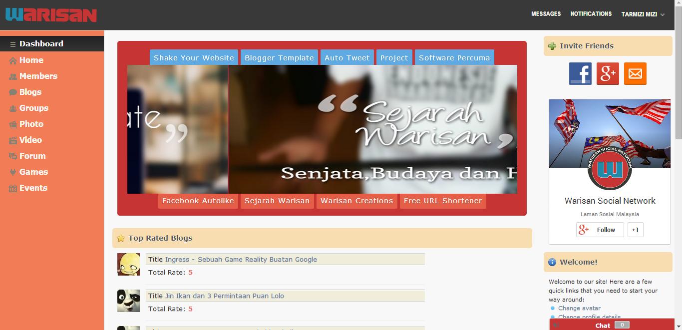 warisannet laman sosial malaysia yang popular satu ketika dahulu 12