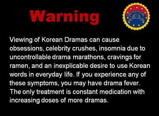 warning amaran kdrama ketagih