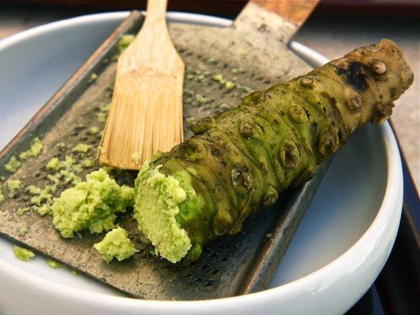 wasabi original hanya dapat bertahan 15 minit selepas diparut