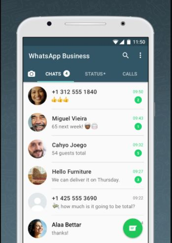 whatsapp business iluminasi punya 4