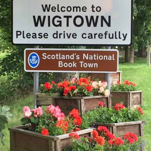 wigtown kampung buku scotland 2