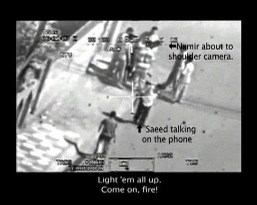 wikileaks mendedahkan gambar video yang menunjukkan tentera amerika membunuh rakyat biasa