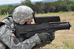 xm 25 grenade launcher