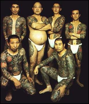 yakuza bakuto gengsterisme jepun kongsi gelap