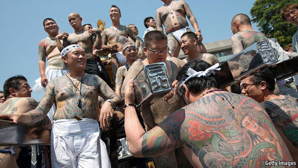 yakuza tekiya bakuto mafia gengster kongsi gelap jepun bantuan gempa bumi