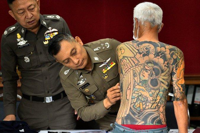 yakuza tekiya bakuto mafia gengster kongsi gelap jepun ketua ditangkap
