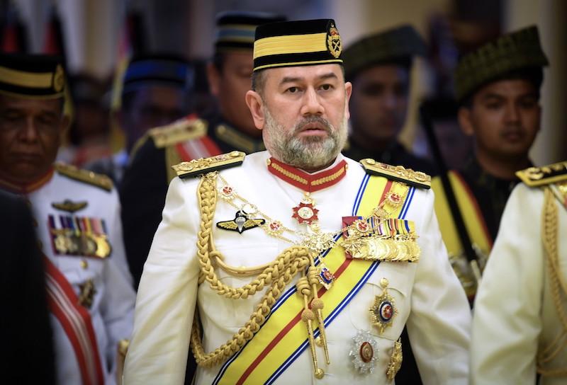 yang dipertuan agong sultan muhammad v
