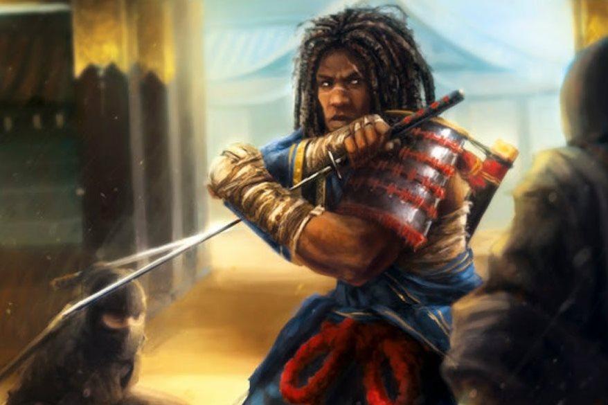 yasuke samurai berkulit hitam