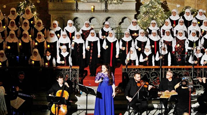 yayasan imam sadr lebanon menyanyi di gereja