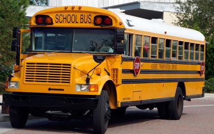 yellow school bus kuning