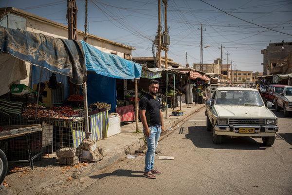 zaid peniaga ayam di tel kaif iraq