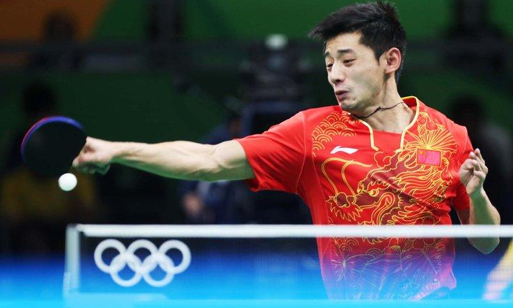 zhang jike pemain ping pong paling power di dunia