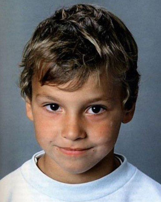 zlatan ibrahimovic ketika kecil