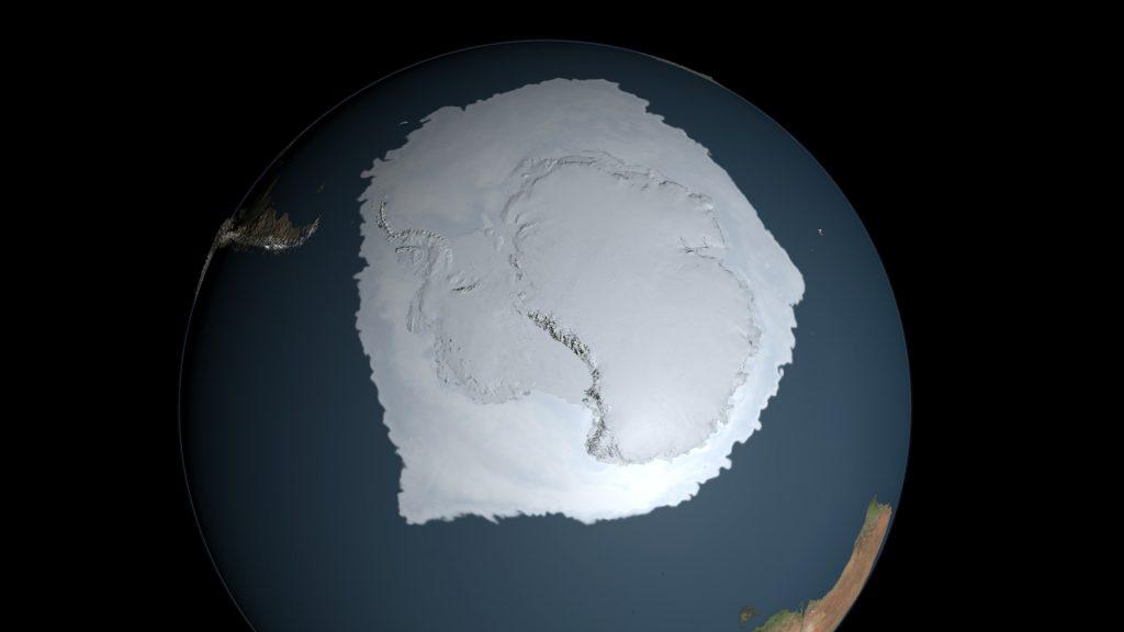 zon masa di antartika