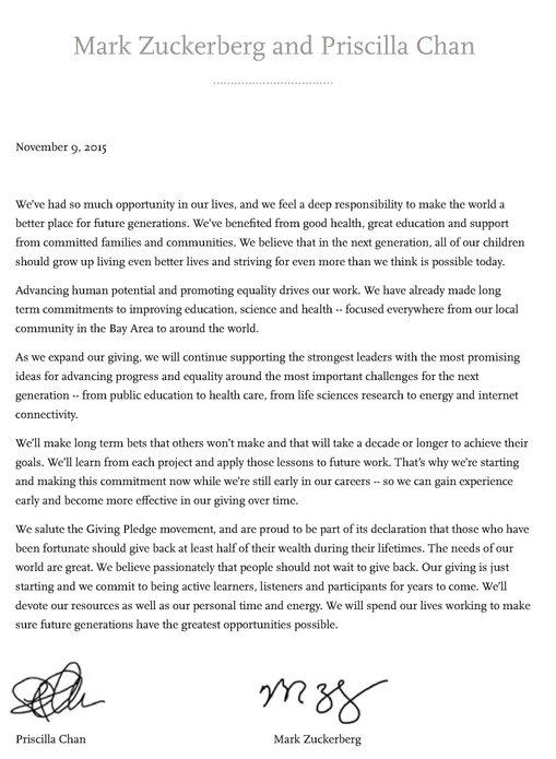 zuckerberg ikrar giving pledge 117