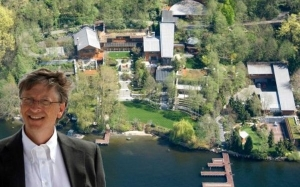 15 Fakta Menarik Mengenai Rumah Orang Terkaya Di Dunia Bill Gates
