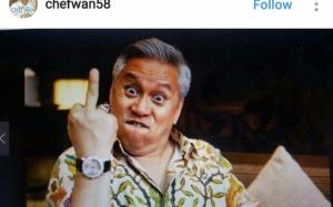Chef Wan Mengamuk, Tayang 'Jari Tengah'!