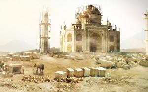 7 Fakta Menarik Mengenai Bangunan Paling Simetri Di Dunia Taj Mah...