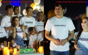 Foto Sekitar Hari Lahir Ke-32 Jep Sepahtu Bersama Sari Yanti Penu...