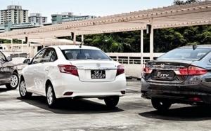 Honda City vs Toyota Vios vs Nissan Almera, Mana Satu Yang Terbai...