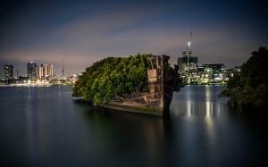 Homebush Bay : Hutan terapung di atas kapal yang berusia 106 tahun